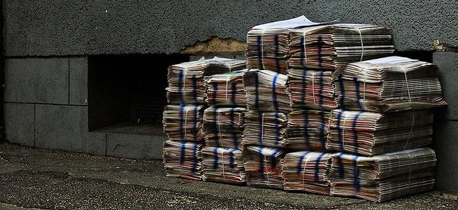 Chance verpasst - Zeitung von Gestern © flickr.com/photos/cijmyjune (bearb. MiGAZIN)