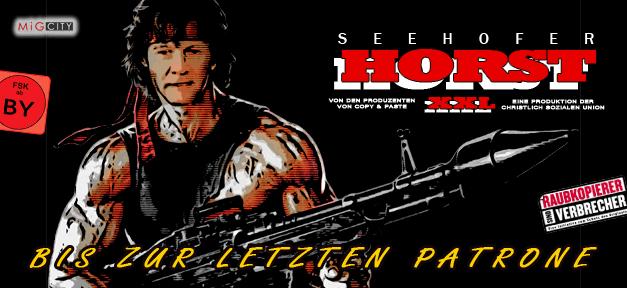 HORST Seehofer XXL - Bis zur letzten Patrone © MiG