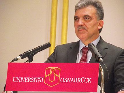 Der türkische Staatspräsident Abdullah Gül © Cemil Şahinöz