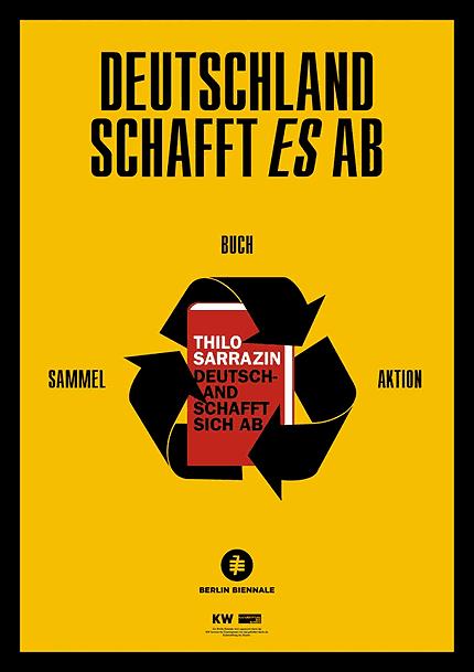 """Das Plakat zur Aktion """"Deutschland schafft es ab"""""""