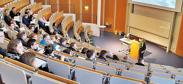 Ein Hochschulinformationstag an der Westfälischen Hochschule © Westfälische Hochschule