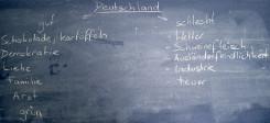 Deutsch, Deutschkurs, Sprache, Tafel, Lernen, Deutschland