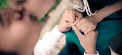 Ehe, binationale Ehen, eheschließung, ehepaar, hochzeit, kuss