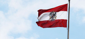 Österreich, Flagge, Fahne, Austria, Mast