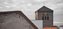 Kirche, Kreuz, Turm, Berlin, Dach, Kirchenasyl, Evangelisch, Christilich