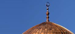Moschee, Islam, Kuppel, Halbmond, Moscheekuppel, Muslime