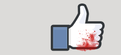 Facebook, Blut, Like, Like-Button, Button, Social Media, Liken