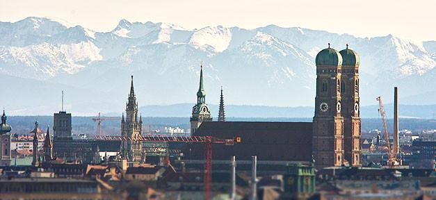 Kirche, München, Frauenkirche, Bayern