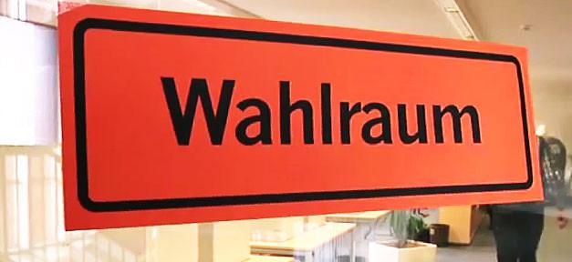 Wahlraum, Wahlen, Wahlurne, Bundestagswahl, Landtagswahl