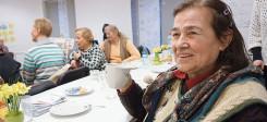 frauentreff, cafe, seniorinnentreff, Altersheim, Pflege, Alter, Frauen, Pflegeheim