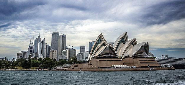 Australien, Sydney, Oper, Küste, Meer