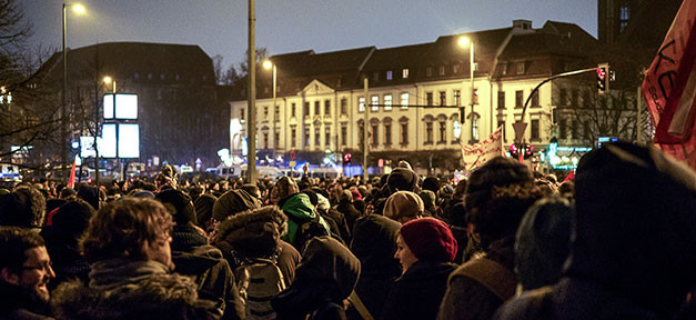 pegida, demo, demonstration, no-pegida