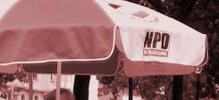 NPD, Nationalsozialisten, nationalsozialistisch, infostand, politik