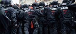 polizei, einsatz, sicherheit, demonstration