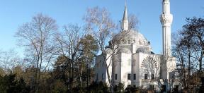 sehitlik, moschee, berlin, sehitlik moschee, kuppel, minarette, islam, muslime
