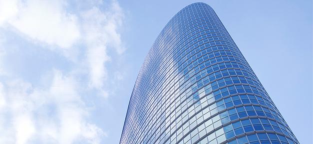 Gebäude, hochhaus, building, bank, versicherung, skyscraper