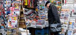 Zeitung, Medien, Zeitschriften, Kiosk