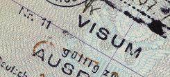 visum, visa, reisepass, vize, reisen, grenze, stempel, pass