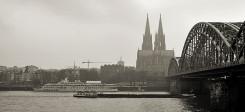 Köln, Rhein, Dom, Kölner Dom, Hohenzollernbrücke