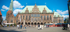 Bremen, Rathaus, Bremer Rathaus, Gebäude, Rathausgebäude, Bremer