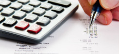 Taschenrechner, Buchführung, Selbstständigkeit, Rechnen, Kosten, Rechnung