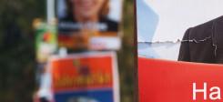 Wahlkampf, Plakate, Wahlkampfplakate, Wahlen, Plakat