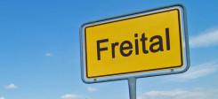Freital, Stadt, Sachsen, Ortsschild