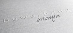 Bewerbung, Bewerbungsmappe, anonym, anonyme bewerbung