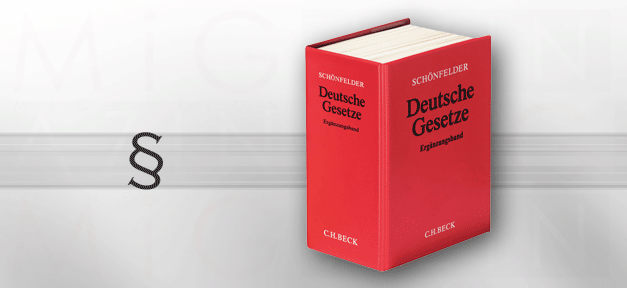Schoenfelder, Gesetz, Gesetze, Deutsche Gesetze, Paragraf