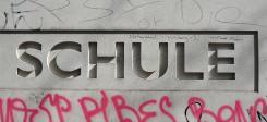 Schule, Grundschule, Hauptschule, Gymnasium, Graffiti