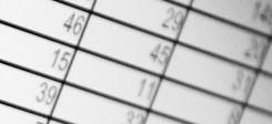 Zahlen, Tabelle, Statistik, Excell, Umfrage, Werte