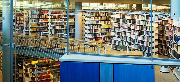 bibliothek, bücherei, bücher, bildung, lesen, bibi