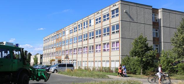 Flüchtlingsheim, Flüchtlingsunterkunft, Asylbewerber, Berlin, Hellersdorf