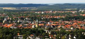 goslar, stadt, panorama, einwohner, bevölkerung