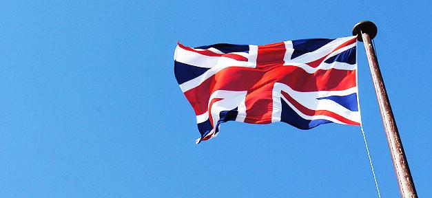 Großbritannien, England, Fahne, Flagge