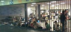 Ungarn, Bahnhof, Flüchtlinge, Syrien, Eingesperrt