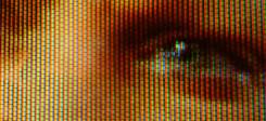 Fernseher, Bildschirm, TV, Fernsehen, Auge, Angst