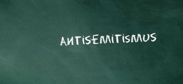 Antisemitismus, Juden, Tafel, Kreide, Schrift