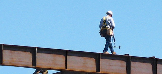 Baustelle, Bauarbeiter, Arbeiter, Helm, Arbeit