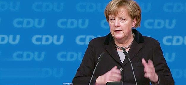 Angela Merkel, Merkel, CDU, Parteitag, Rede, Pult