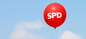 SPD, Ballon, Sozialdemokraten, Himmel