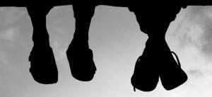 Füße, Freunde, Schuhe, Jungs, Jugendliche, Kinder