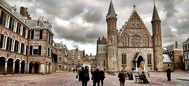 Niederlande,Holland, Den Haag, Binnenhof, Politik