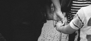 Kind, Eltern, Vater, Mutter, Hand