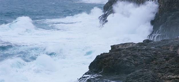 Meer, Brandung, Küste, Welle, Wasser, Felsen