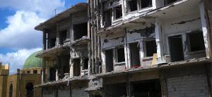 Syrien, Krieg, Häuser, Ruinen