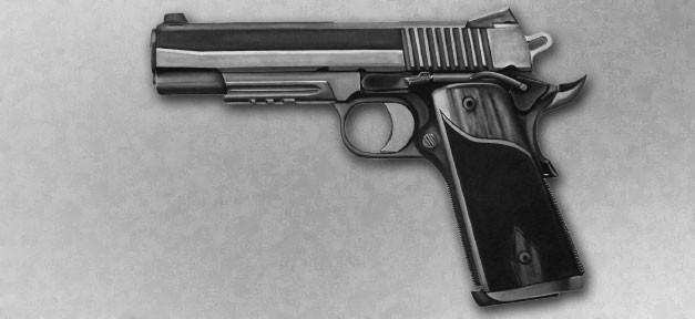 Waffe, Pistole, NSU, Ceska, Automatik, Schusswaffe