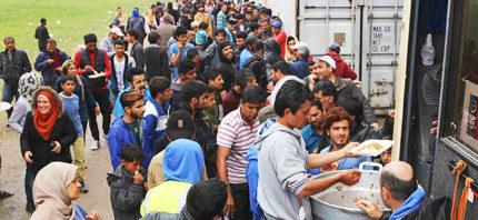 Idomeni, Flüchtlinge, Griechenland, Flüchtlingskrise, Zelt