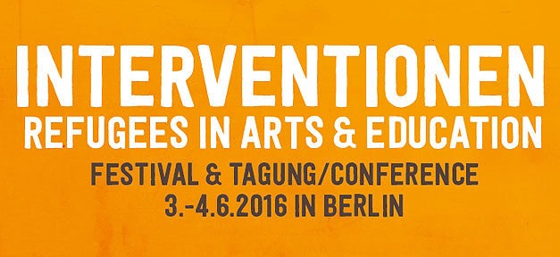 interventionen, refugees, arts, education