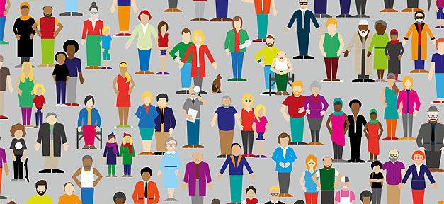 Datenreport, Volk, Menschen, Population, Demografie